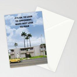 Karate Kid movie print Stationery Cards