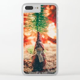158 - Christmas memories Clear iPhone Case