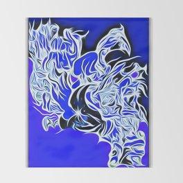 blue 12 Throw Blanket