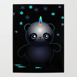 Glow in the Dark Pandacorn Poster