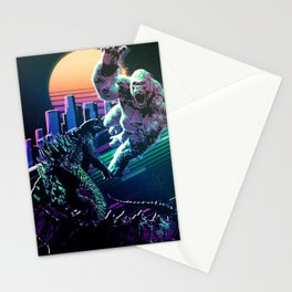 Monster fighters Stationery Cards