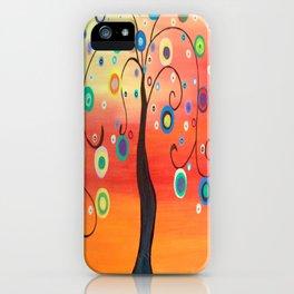Fiesta Tree iPhone Case