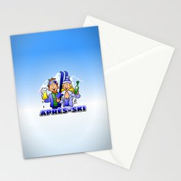 Après-ski Stationery Cards