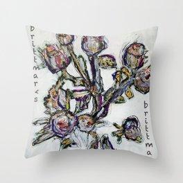 Bluete/Genaeht/brittmarks Throw Pillow