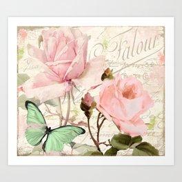 Florabella III Art Print