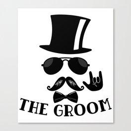 The Groom Canvas Print