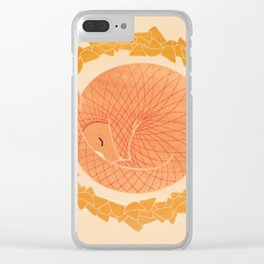 Save the earth Clear iPhone Case