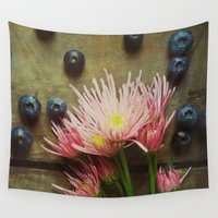 rustic Wall Tapestries featuring Rustic Spring by Olivia Joy StClaire