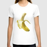 banana T-shirts featuring Banana by Liam Brazier