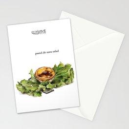La Cuisine Fusion - Pastel de Nata Salad Stationery Cards