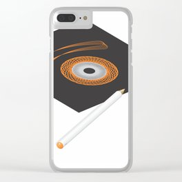 sp.eye.rograph Clear iPhone Case