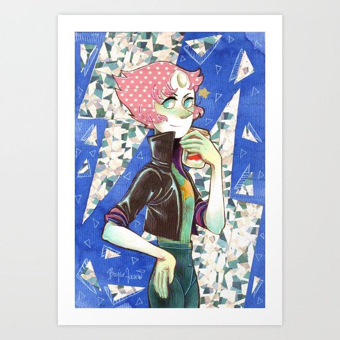 Rad Pearl Art Print