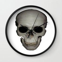 Human Skull Vector Isolated Wall Clock