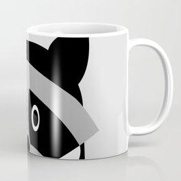 Racoon Bw Coffee Mug
