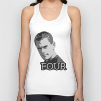 divergent Tank Tops featuring Divergent: Four by Flash Goat Industries