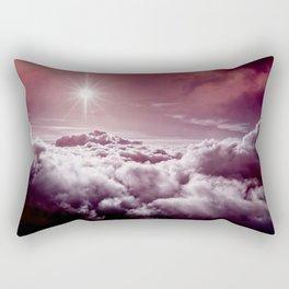 Deep Fantasy Sunset Clouds Rectangular Pillow