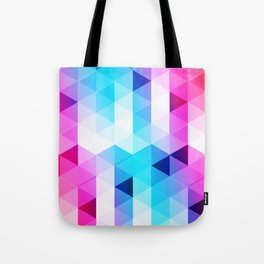 Abstract Triangle Colorful Tote Bag