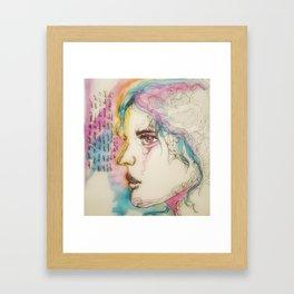Sleep to dream Framed Art Print