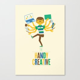 The Handy Creative Canvas Print