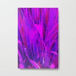 Purple Plant Paradise Metal Print