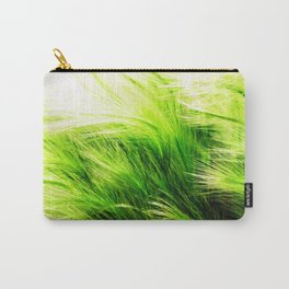 Green Swaying Grass in Summer Breeze Carry-All Pouch
