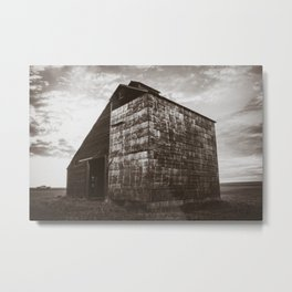 Grain Elevator 2 Metal Print