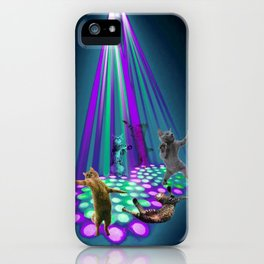 cats party iPhone Case
