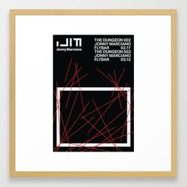 Jonny Marciano - The Dungeon 003-A Framed Art Print