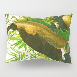 Canada Goose John James Audubon Vintage Scientific Birds of America Illustration Pillow Sham