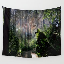 The Wild in Us Wall Tapestry