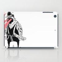 the dude iPad Cases featuring dude by Dávid Kurňavka