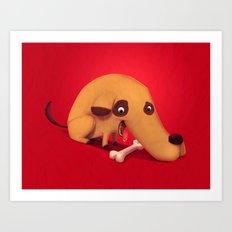 Poorly designed creatures # 1 Art Print
