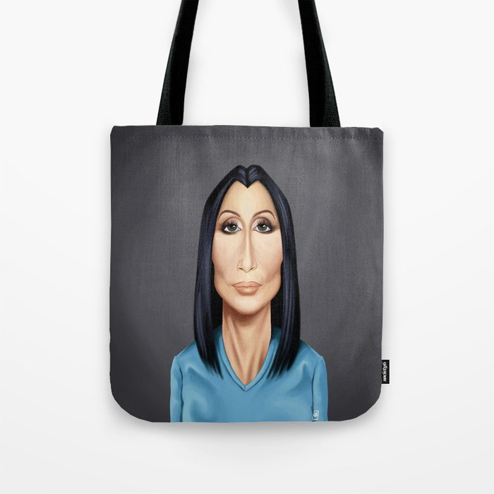 Celebrity Sunday ~ Cher(Cherilyn Sarkisian) Tote Bag
