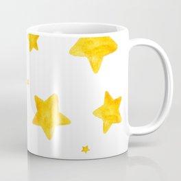 Golden stars pattern Coffee Mug