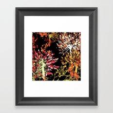 Collage pattern II Framed Art Print