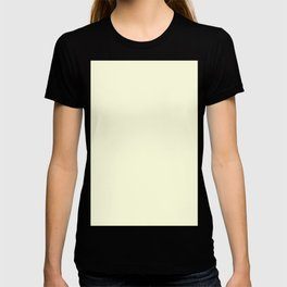 color light yellow T-shirt