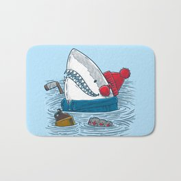 Great White North Shark Bath Mat