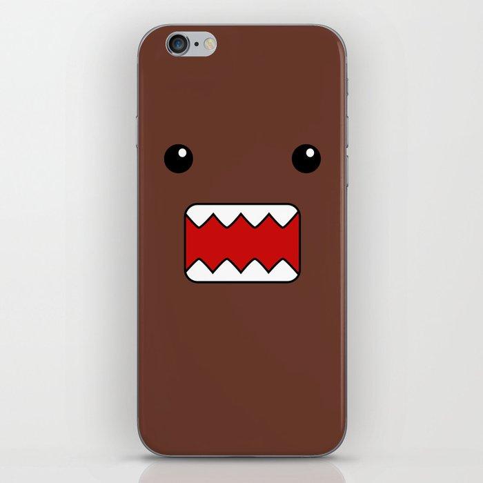 domo kun brown japanese monster iphone skin by cutecutecute society6