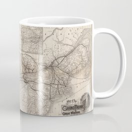 The Grand Trunk Railway 1885 Coffee Mug