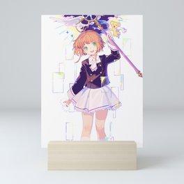 Sakura Kinomoto & Kerobero | Card Captor Sakura Mini Art Print