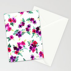 Ava Floral Pink Stationery Cards