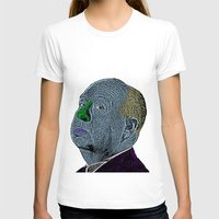 hitchcock T-shirts featuring Alfred Hitchcock by CultureCloth