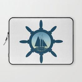 Sailing scene Laptop Sleeve
