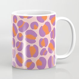 Pink Leopard Party Coffee Mug
