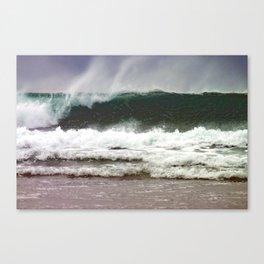 Surf Wave 1 Canvas Print