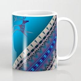 Elk Spirit (Blue) Coffee Mug