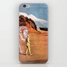 Walk with Dinosaur iPhone Skin