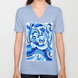 Seigaiha Series - Alliance Unisex V-Neck