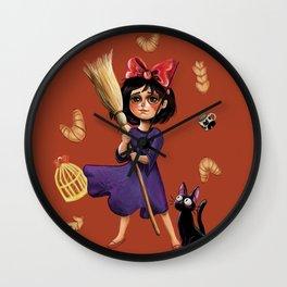 Kiki and Jiji Wall Clock