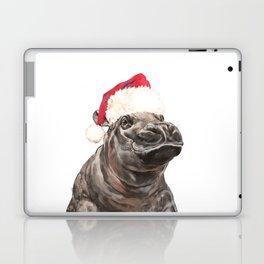 Christmas Baby Hippo Laptop & iPad Skin
